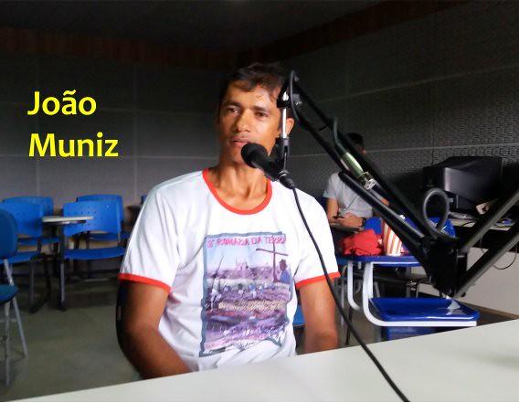 João Muniz, poeta e militante da CPT - Créditos: Reprodução