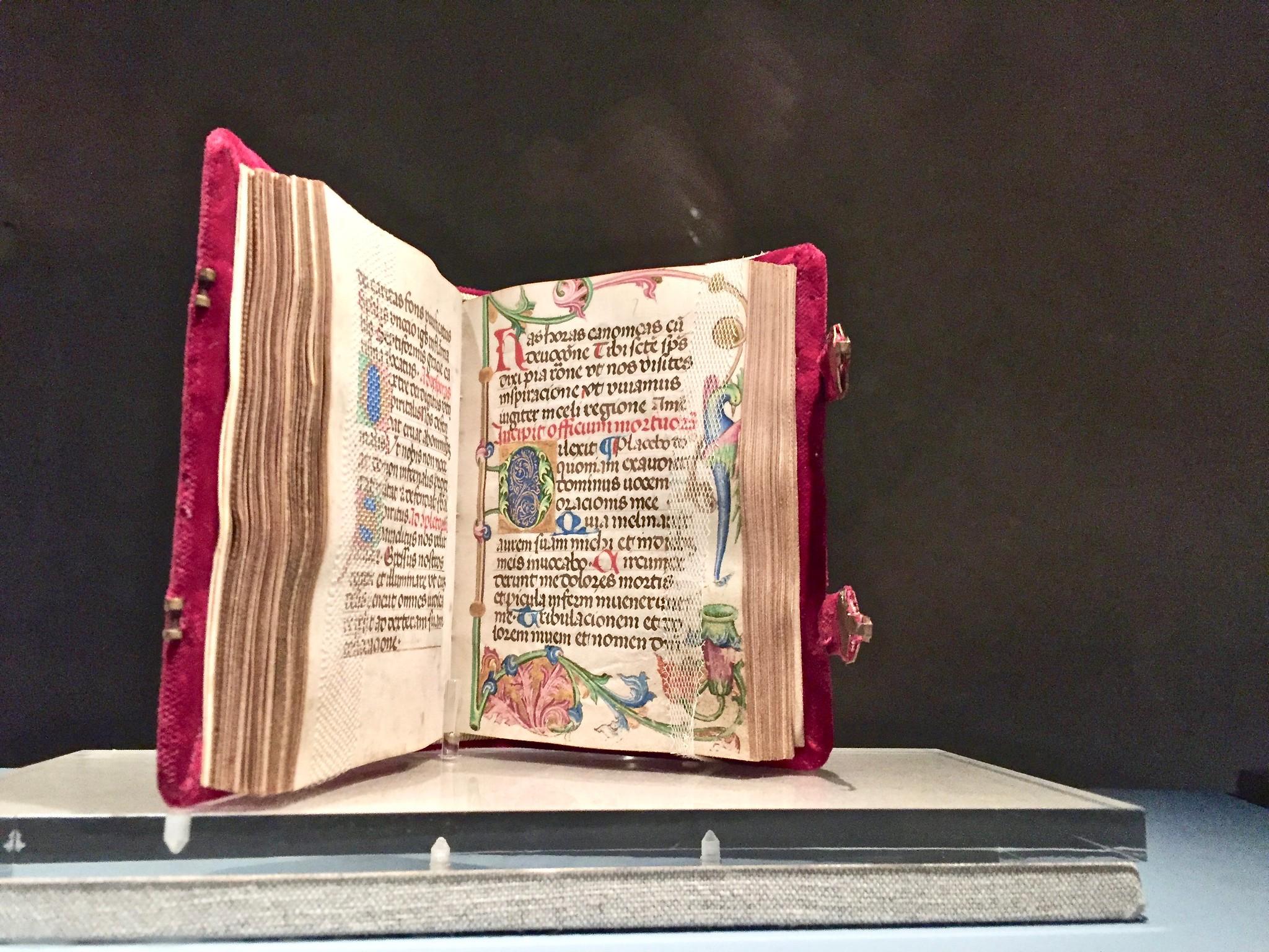 Itinerario di Trento - Libro miniato al Museo Diocesano Tridentino
