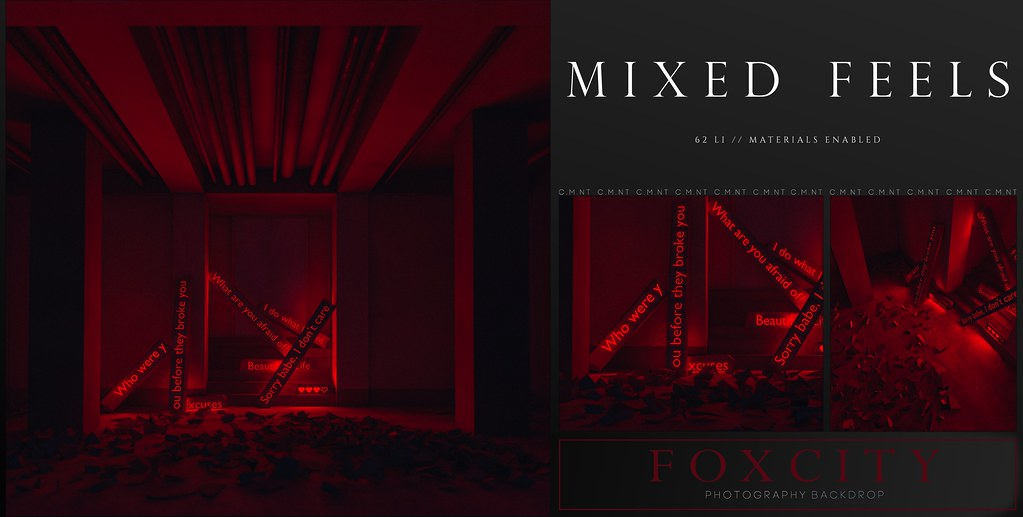 FOXCITY. Photo Booth – Mixed Feels