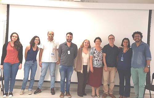 Grupo de alunos e professores - 01 abril 2019