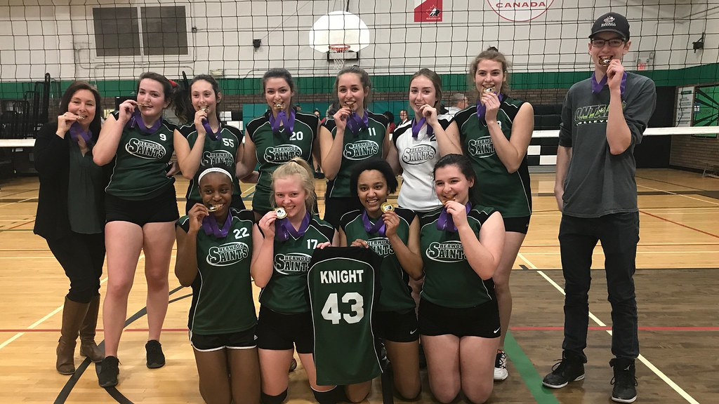 2018-19 Senior Girls Volleyball Champions
