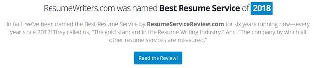 resume writers service