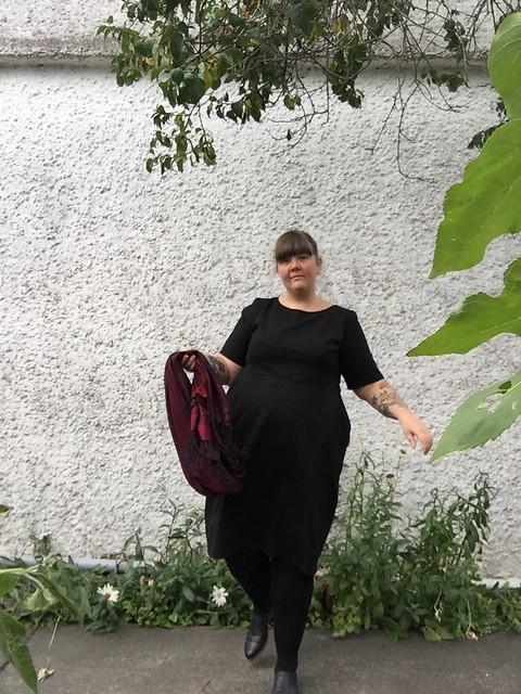 Cashmerette Rivermont Dress Black 3