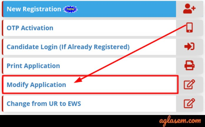 RRB NTPC Application Form Correction 2019 : Edit Your Details From Here!