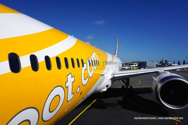 Touchdown Gold Coast - Scoot Flight