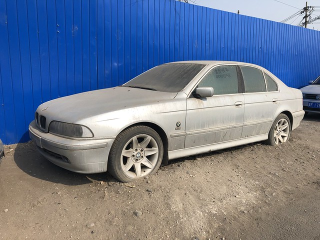 Beijing East - abandoned BMW 530i E39