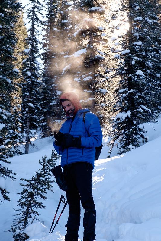 Snowshoeing - Gypsum Ridge - Feb 2019-5