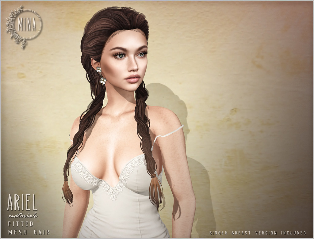 MINA Hair – Ariel for Belle. Events