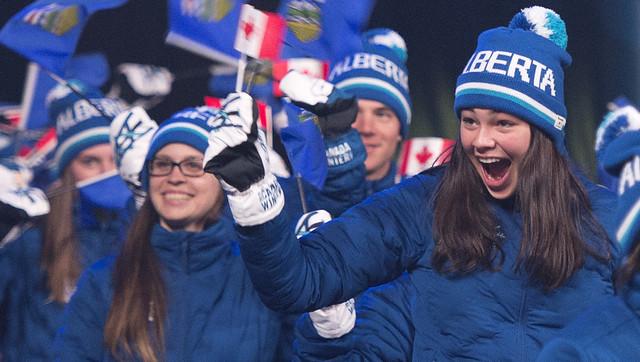 Historic Winter Games for Team Alberta