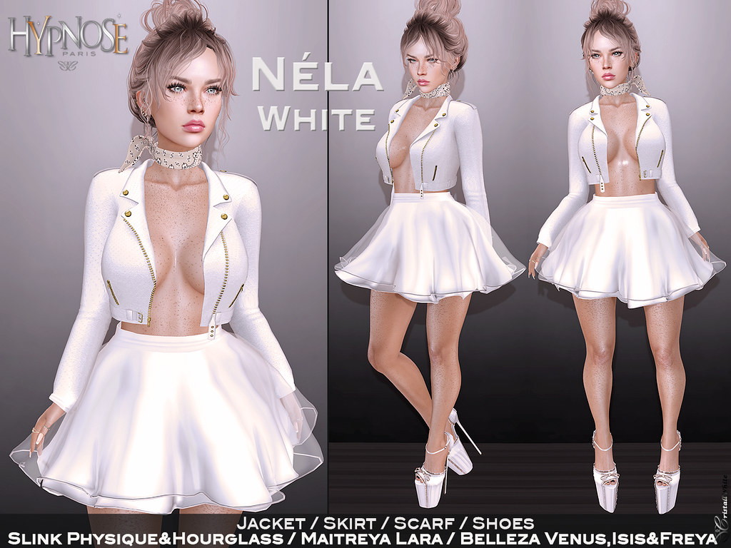 HYPNOSE – NELA WHITE OUTFIT