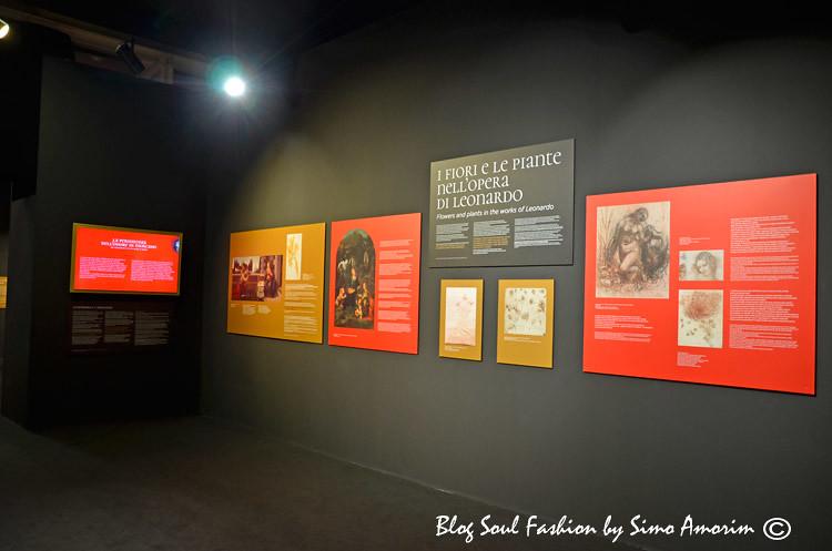 A exposição em homenagem aos 500 anos da morte do Leonardo da Vinci intitulada: Leonardo Genio e Bellezza