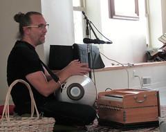 Hindu temple musician