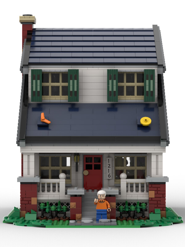 Lego The Loud House Front