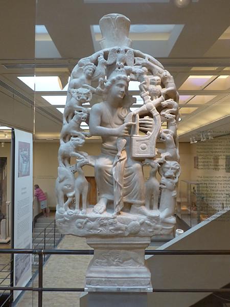 sculpture musée byzantin