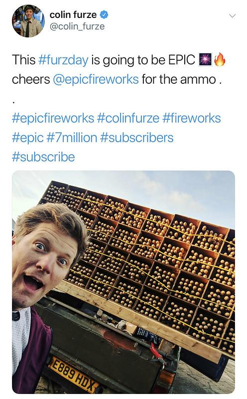 #COLINfurze #EPICfireworks #7M