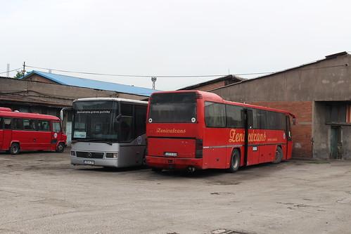 zenicatrans bus coach j72k379 mercedesbenzintegro j57m818 neoplan