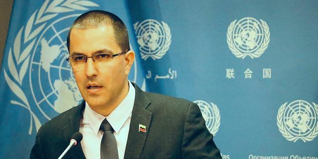 Canciller Arreaza: creemos que es el momento de reforzar las Naciones Unidas y el multilateralismo