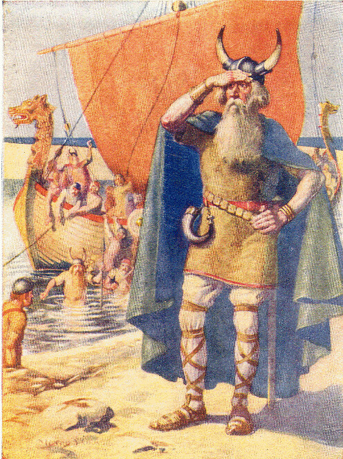 Leif_Ericson_on_the_shore_of_Vinland