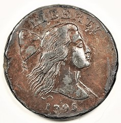 Electrotype S80 Jefferson Head cent obverse