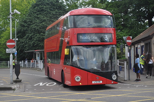 Abellio LT711 seen at Crystal Palace about to start a journey to Conduit Street