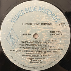 ELI'S SECOND COMING:ELI'S SECOND COMING(LABEL SIDE-B)