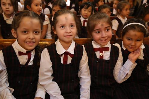 Eucaristía Miercoles de Ceniza y Bendición del Año Escolar