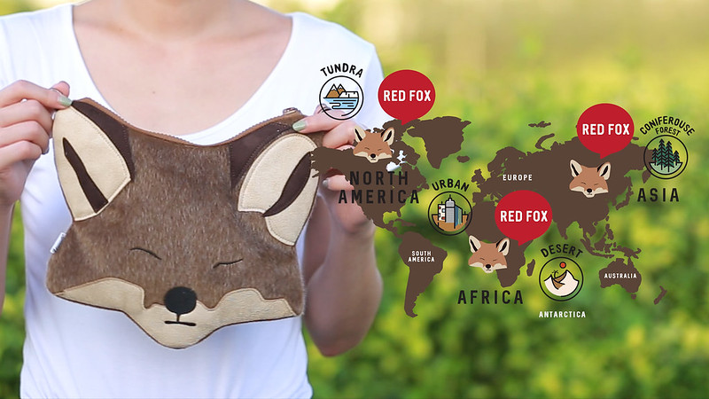 redfox habitat