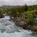 Wild river in Norway