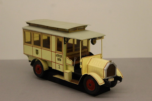 Pictures from the museum of public transport of Vienna
