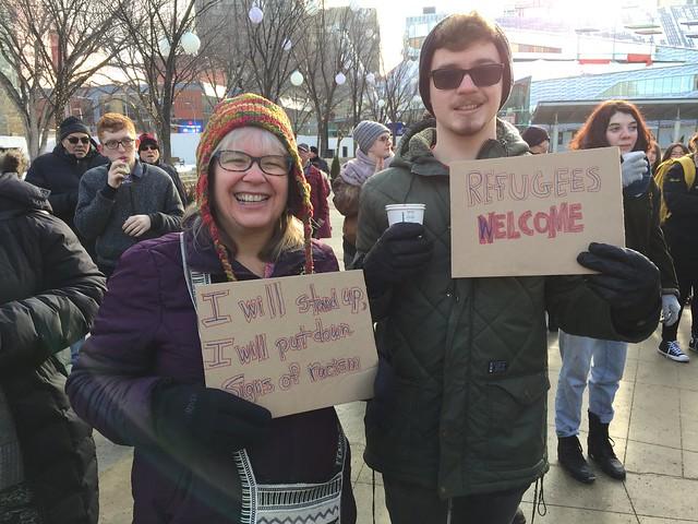#HateFreeYEG Pep Rally