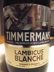 Timmermans, Lambicus Blanche, Belgium