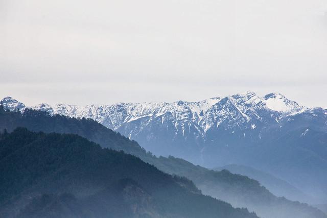 加里山山頂展望--聖稜線
