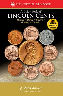 A Guide Book of Lincoln Cents red edition book cover