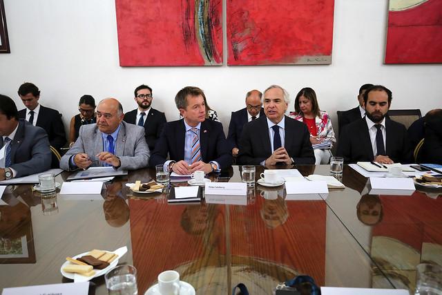 Subsecretario Salaberry acompaña al Ministro Chadwick en reunión con alcaldes de la provincia de Arauco | 30.01.19