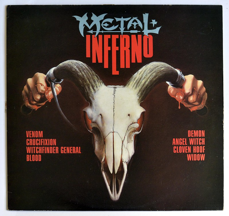 A0389 VA VARIOUS ARTISTS Metal Inferno