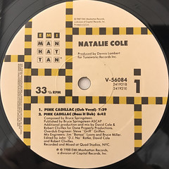 NATALIE COLE:PINK CADILLAC(LABEL SIDE-A)