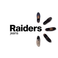 RAIDERS FROM HEAD TO TOE  Encontrá los modelos de calzados disponibles en los locales exclusivos y multimarca estamos presentes en más de 500 locales en todo el país.  #RaidersJeans #Jeans #Zapatillas #Calzado #Zapatos #BuenSabado #AmorRaidersJeans