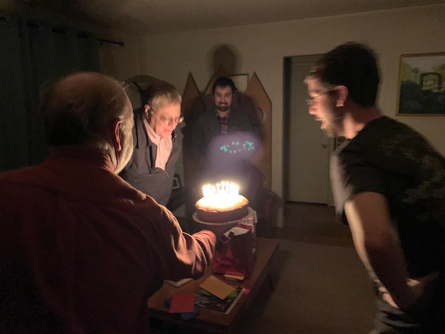 Celebrating Tim and Eric's birthdays