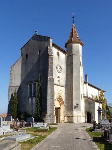 Où? église Saint-André de Saint-André-de-Seignanx, Landes