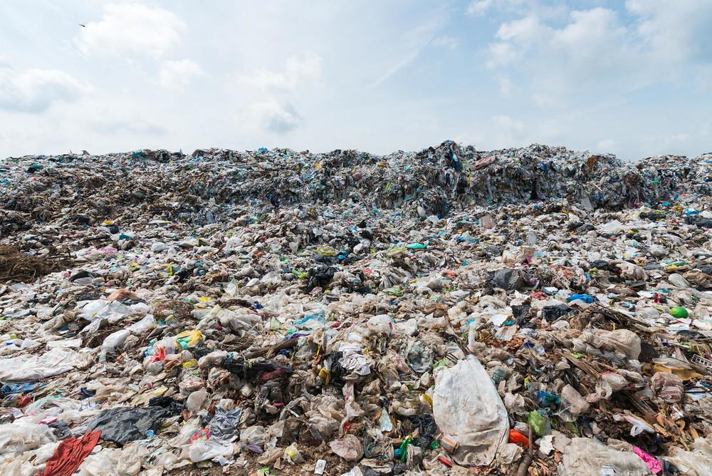 垃圾掩埋場。圖片來源:WWF