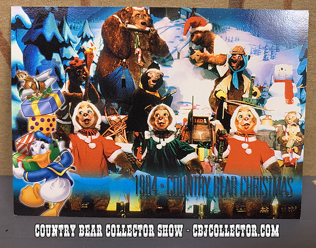 2001 Walt Disney World 30th Anniversary Trading Card - Country Bear Collector Show #197