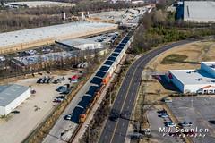 BNSF 8206 | GE ES44C4 | BNSF Tennessee Yard