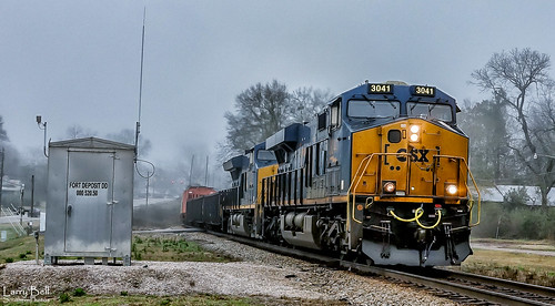 CSX 3041 ~ A General Electric GE44AH