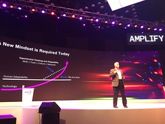 Me giving a keynote to Wipro's global delivery leadership yesterday in Hyderabad, India