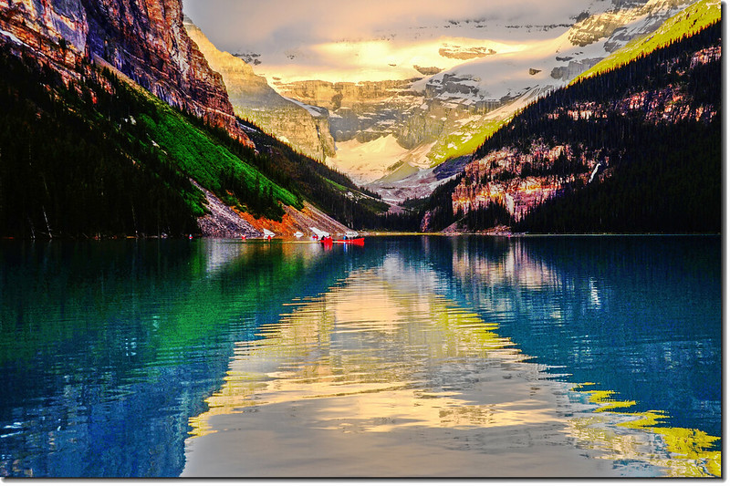 Lake Louise sunrise (9)