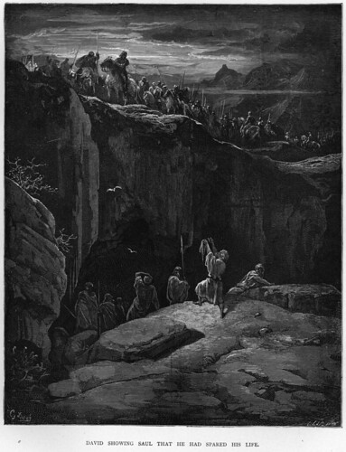 1885-david-showing-saul-that-he-had-spared-his-life