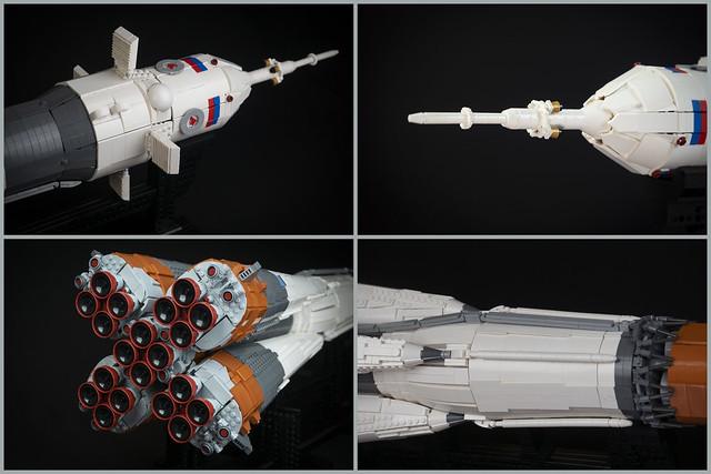 LEGO Russian Space Rocket