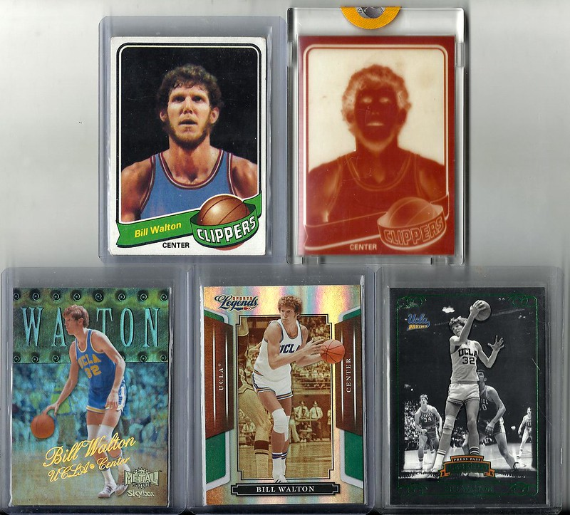 eea2db766a8c Bill Walton 1979-80 Topps Base + Official Topps Vault Proof -  12. Bill  Walton 2012-13 Fleer Retro PMG 05 50 - SOLD Bill Walton 2008 Sports Legends  Green ...