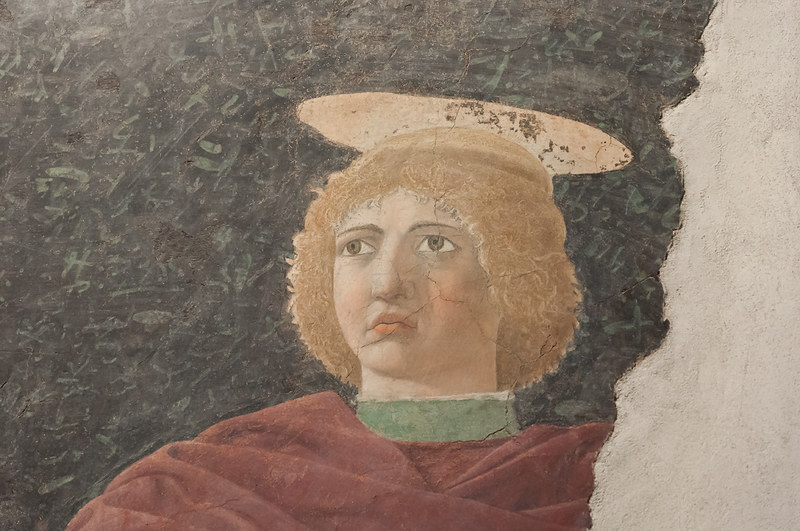 Святой Юлиан. 1453-1454. Фреска, переведенная на дерево. Городской музей Сан Сеполькро