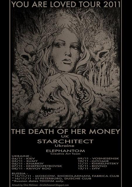 Starchitect Tour poster 2011